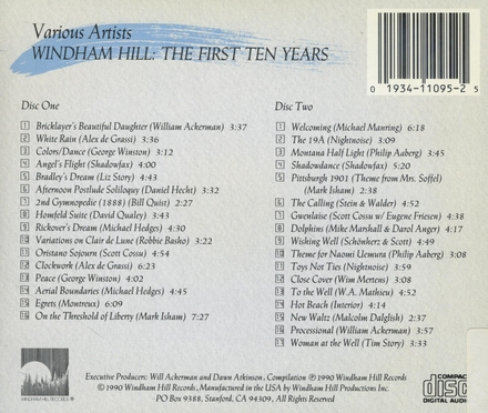 Windham Hill Records : the first ten years