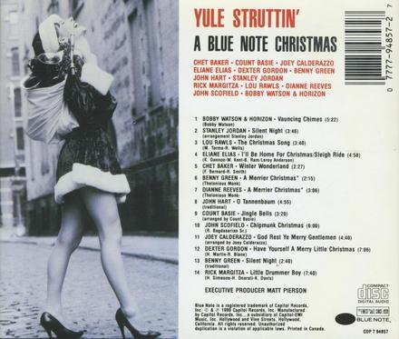 Yule struttin' - bl.note christmas