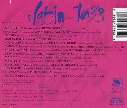 The best of latin jazz