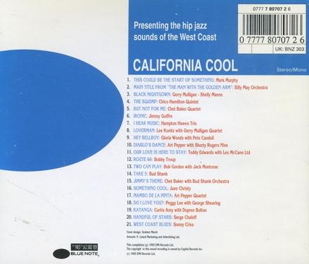 Blue note - california cool