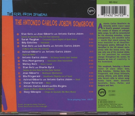 The girl from Ipanema : the Antonio Carlos Jobim songbook