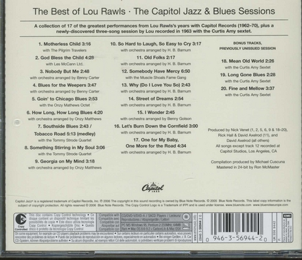The best of Lou Rawls : the Capitol jazz & blues sessions