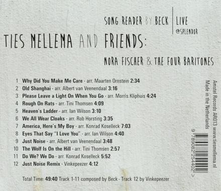 Song reader by Beck : Live at Splendor