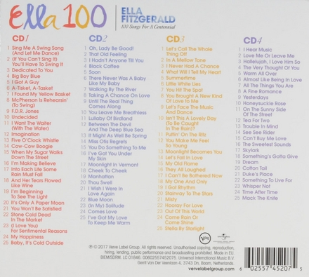 Ella 100 : 100 songs for a centennial