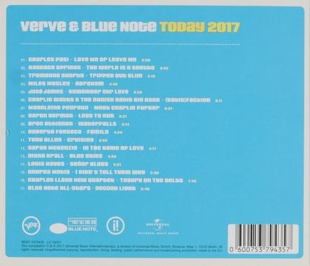 Verve & Blue Note today 2017