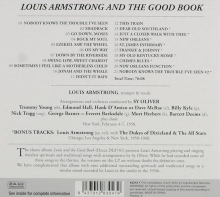 Louis Armstrong and the good book