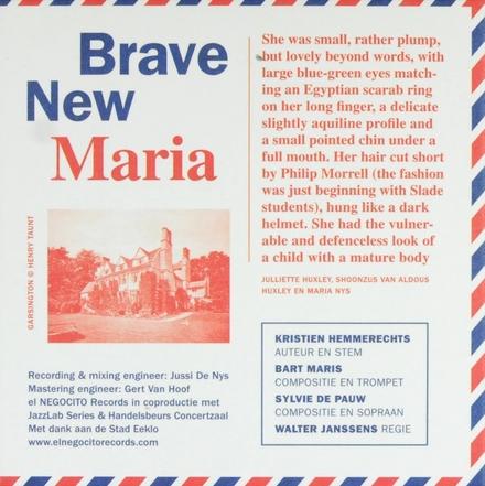 Brave new Maria