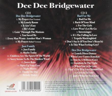 Dee Dee Bridgewater ; Just family ; Bad for me ; Dee Dee Bridgewater
