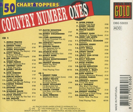 Country number ones