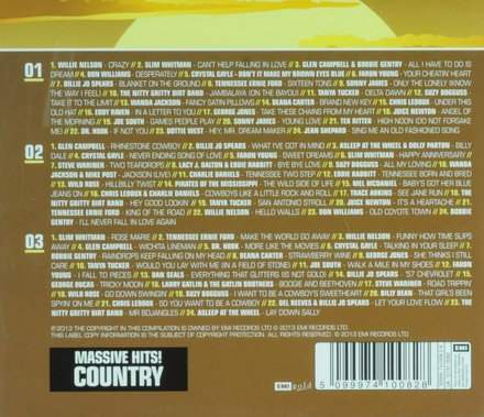 Country : Massive hits!