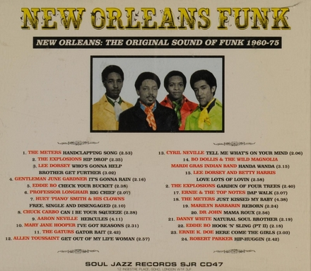 New Orleans funk : 1960-1975