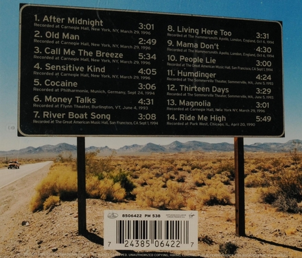 J.J.Cale : live