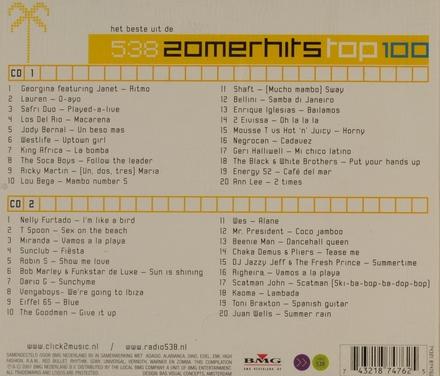 Radio 538 : het beste uit de zomerhits top 100