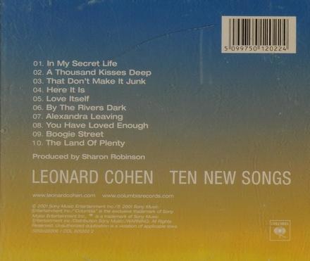 Ten new songs