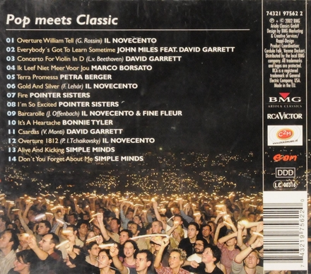 Night of the Proms : pop meets classic 2002