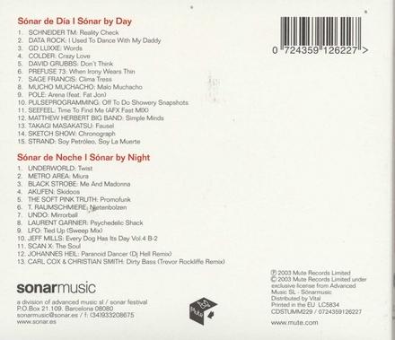 Sonar 2003