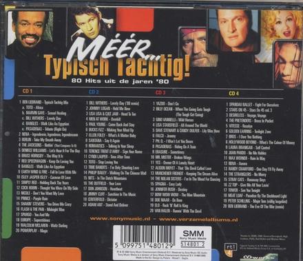 Méér... typisch tachtig! : 80 hits uit de jaren '80
