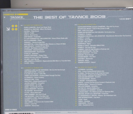 The best of trance 2003