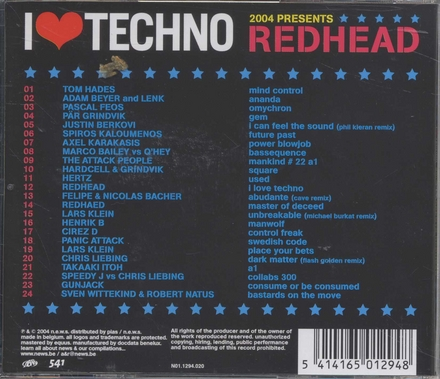 I love techno 2004