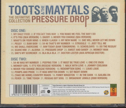 Pressure drop : the definitive collection