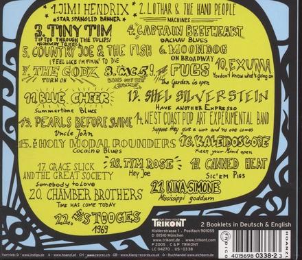 Creative outlaws : US underground 1962-1970