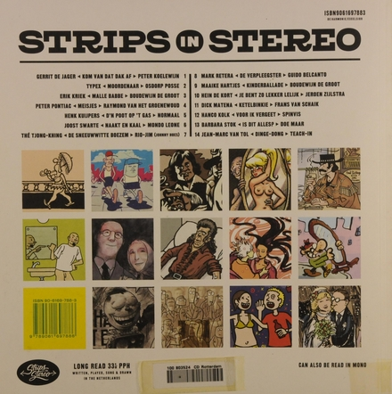 Strips in stereo