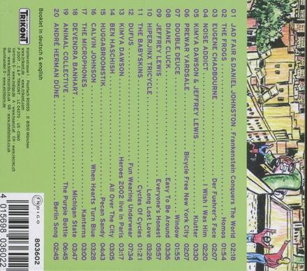 Sidewalk songs & city stories : New urban folk