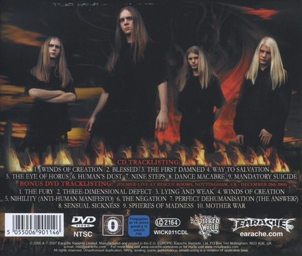 Winds of creation ; Live in Nottingham 2004