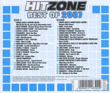 Hitzone : Best of 2007