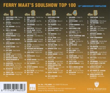 Ferry Maats' soulshow top 100