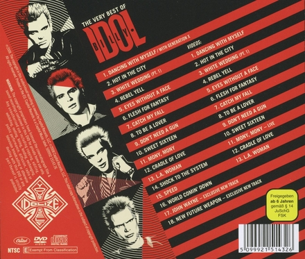 The very best of Billy Idol : idolize yourself