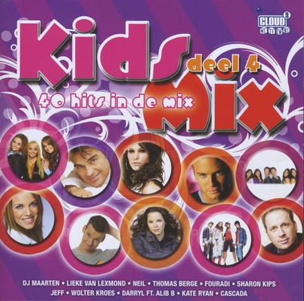 Kids mix : 40 hits in de mix. Vol. 4