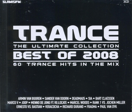 Trance best of 2008 : The ultimate collection