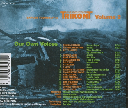 Our own voices : Expose yourself to Trikont. vol.2