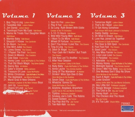 The Atlantic records story. vol.1-3