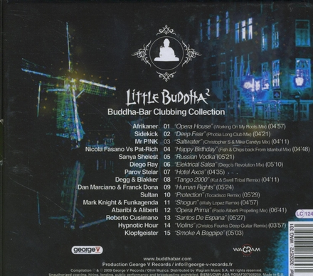 Little Buddha : Buddha-bar clubbing collection. vol.2