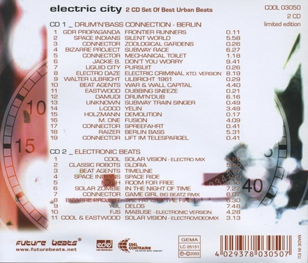 Elelectric city : Set of best urban beats