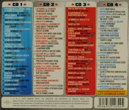 Puissance rap 2010 : Special rap Français