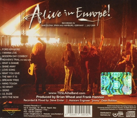 Alive in Europe!