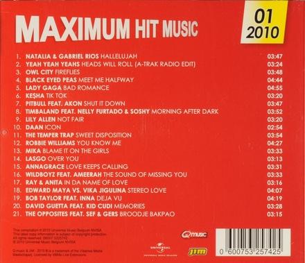 Maximum hit music 2010. Vol. 1