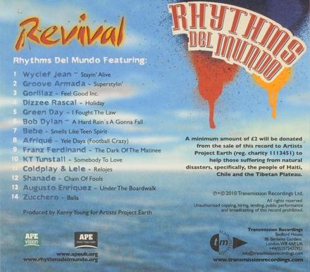 Rhythms del mundo : revival