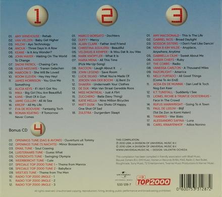 Radio 2 top 2000 : De jaren 2000-2009 - Editie 2010