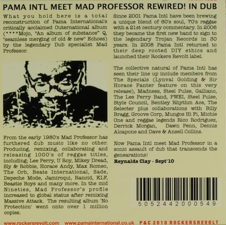 Pama Intl meet Mad Professor rewired! in dub