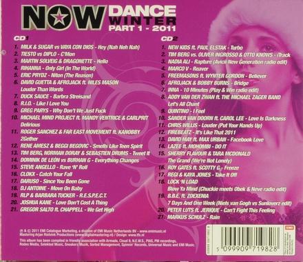 Now dance : Winter 2011. vol.1