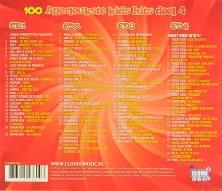 100 allerleukste kids hits. Vol. 4