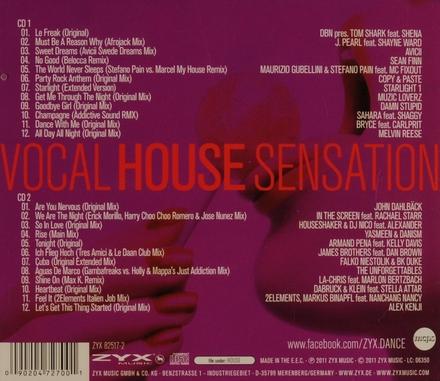 Vocal house sensation