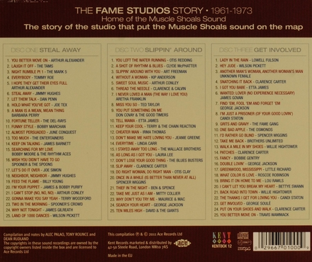 The Fame Studios story 1961-1973 : home of the Muscle Shoals sound