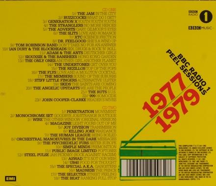 BBC radio 1 Peel sessions 1977-1979 : Movement