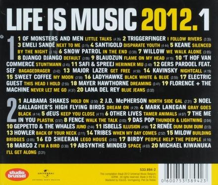 Life is music 2012 : onsterfelijke Studio Brussel songs. 1