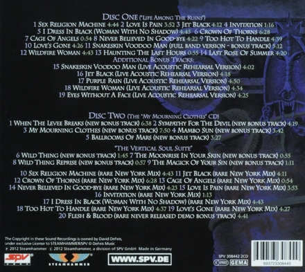 """Life among the ruins ; The """"my mourning clothes"""" cd"""